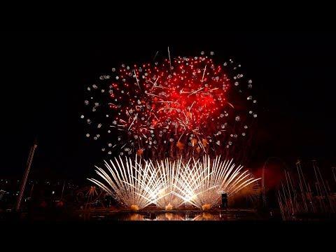 [4k] Montreal Fireworks 2018 - Austria - Jul 11