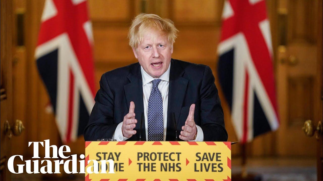 Boris Johnson says the UK is 'past the peak' of the coronavirus ...