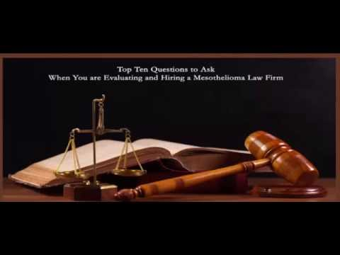 MESOTHELIOMA LAW FIRM Education