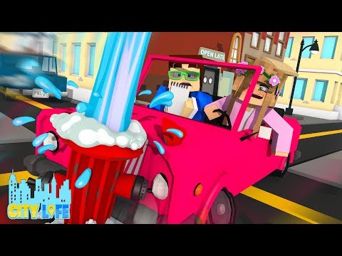 GETTING MY DRIVERS LICENSE ! | Minecraft City Life | Little Kelly