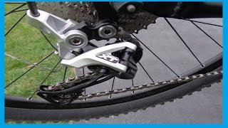 How to adjust Rear Derailleur  SHIMANO DEORE XT RD-M780 10 speed
