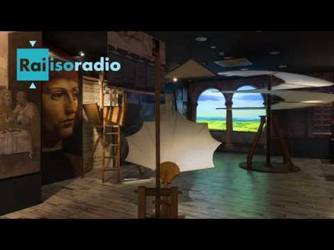 Leonardo Da Vinci Experience su Radio Rai, intervento di Leonardo La Rosa