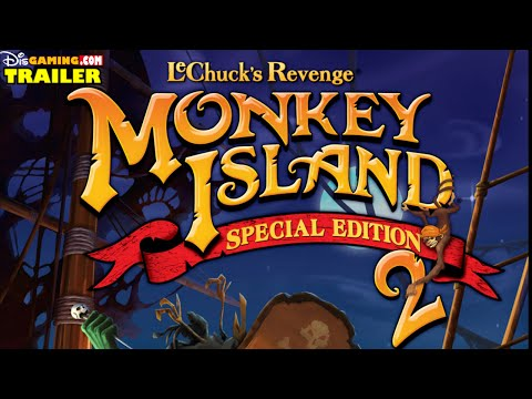 Monkey Island 2 Special Edition: LeChuck's Revenge Trailer  