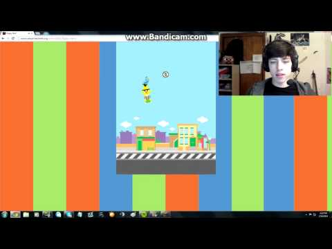 Flappy Bert: Facecam and Rage