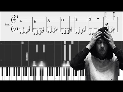 twenty one pilots: Time To Say Goode  Piano Tutorial + SHEETS