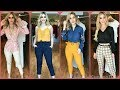 Stunning Slim Fit Trousers pants and Tops For women's/New Trending office work outfits