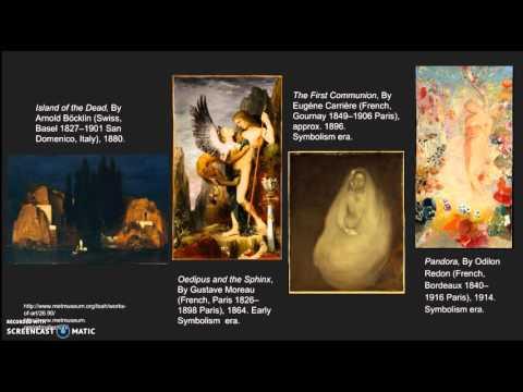 Symbolism Poetry 1870-1900s