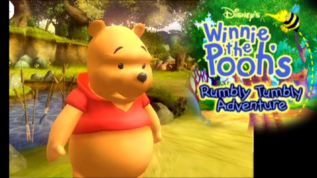 winnie the pooh rumbly tumbly adventure ps2