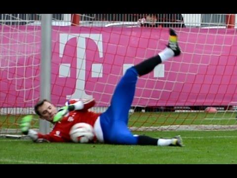 manuel-neuer---goalkeeper-training-fc-bayern-munich---part-6
