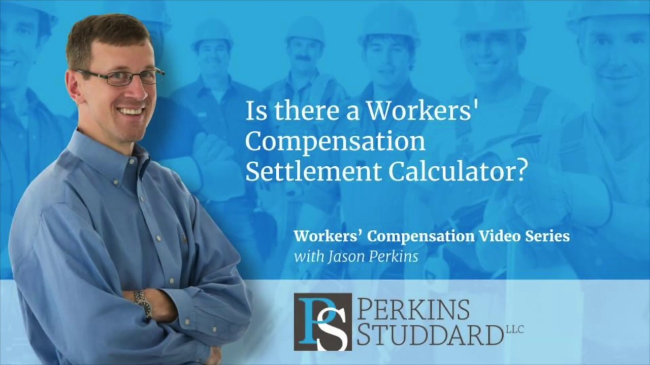 Is there a workers' compensation settlement calculator? Youtube.