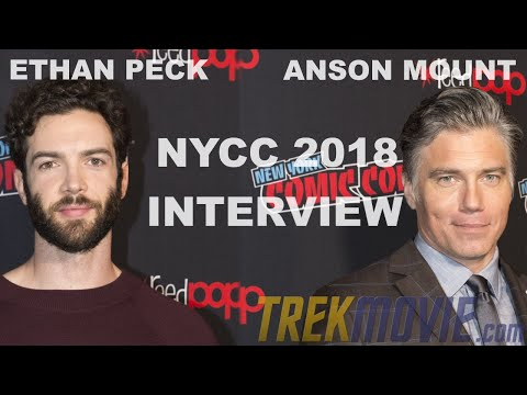 Ethan Peck and Anson Mount Talk 'Star Trek: Discovery' Season 2 At NYCC 2018 Press Roundtable