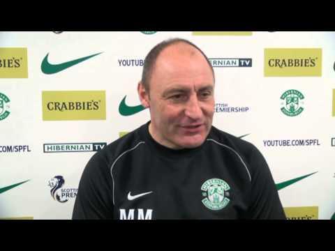 Maurice Malpas Previews Hibernian v St Johnstone
