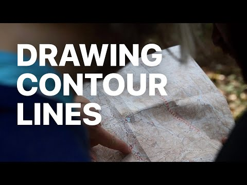 Drawing Contour Lines On A Topographic Map
