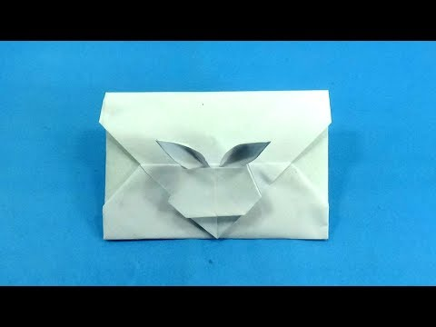 Origami Envelope Making Tutorial - Envelope Making With Paper Without Glue Tape and Scissors at Home