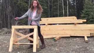 Heavy Duty Sawhorses Easy To Make From 2x4s