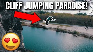 I FOUND CLIFF JUMPING PARADISE!