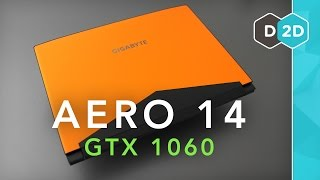 Aero 14 Review (GTX 1060) -  The Lightest Gaming Laptop!