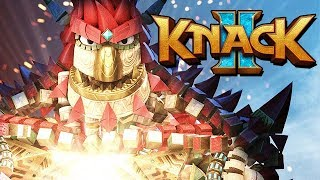 Knack 2 Gameplay German PS4 PRO - Knack wird GIGANTISCH