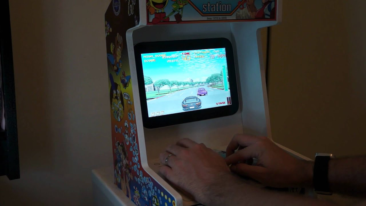 Android Arcade Machine - YouTube