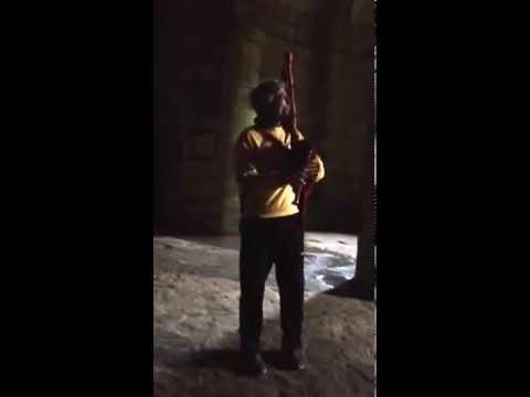 Himno do Antigo Reino de Galicia na Cripta de Carboeiro. Vicente Reboleiro