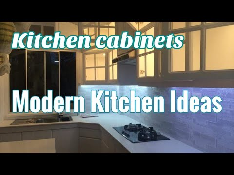 KITCHEN CABINET DESIGNS AND IDEAS | MODERN KITCHENS and CABINETS