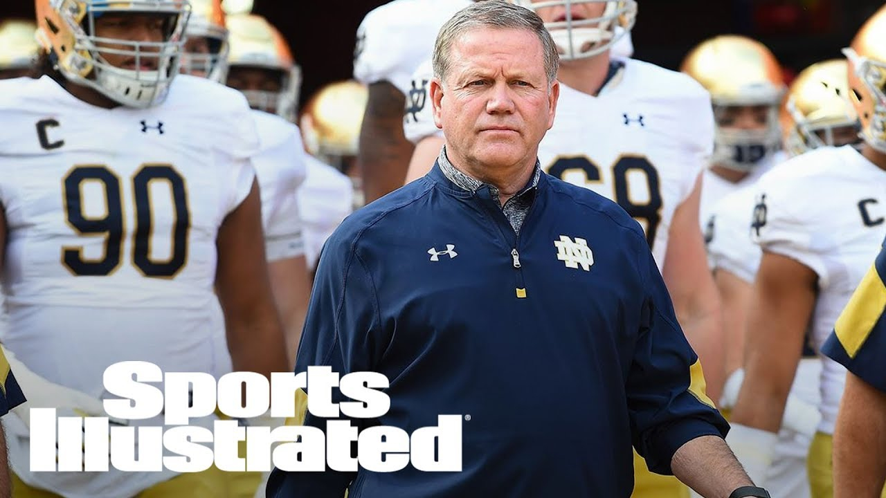 Brian Kelly blames his in-season fundraising for Notre Dame's 4-8 2016