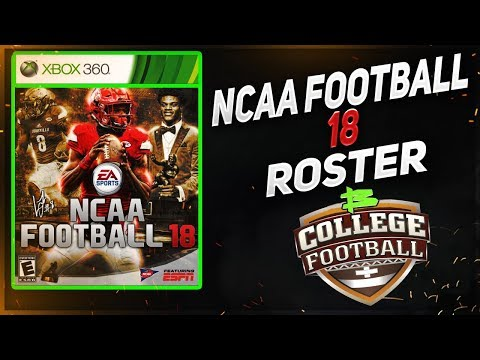 Ncaa Football 2017 18 Rosters Fully Completed Ncaa Football 18 Rosters