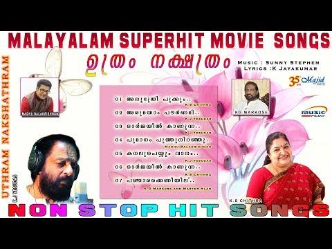 Uthram Nakshathram   K J Yesudas K S chithra  Markose  Malayalam Movie Audio Songs 2017