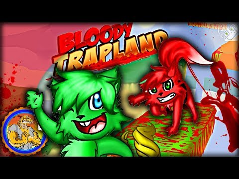This Will Be Torture | Bloody Trapland PC Multiplayer | Rage Inducing Sidescroller Puzzle Game