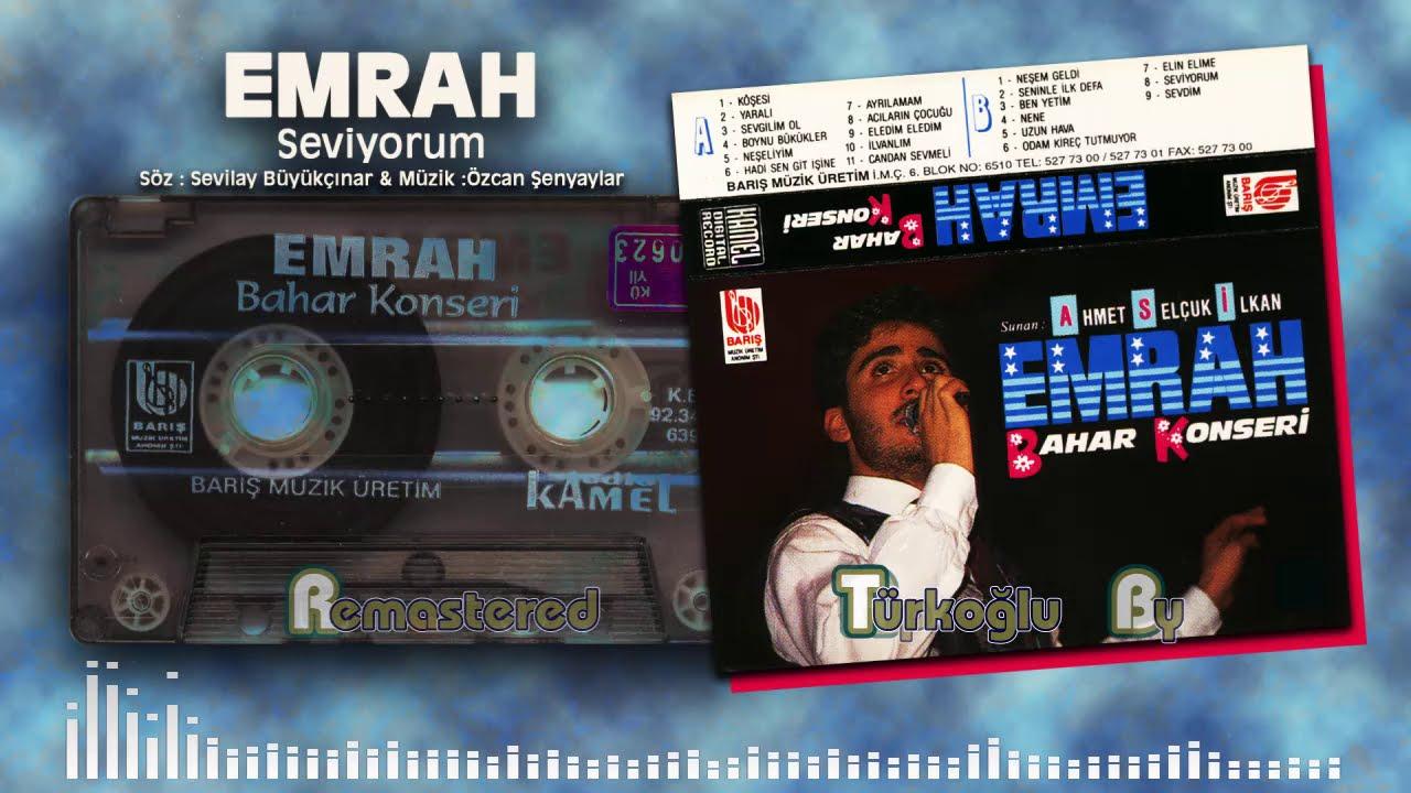 Emrah - Seviyorum (Bahar Konseri Remastered)
