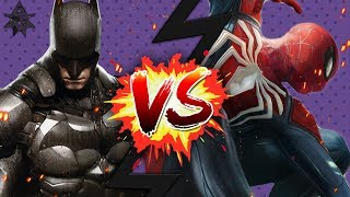 BATMAN vs. SPIDER-MAN - Gaming Showdown