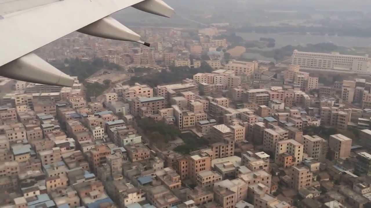 Aeroporto Guangzhou Arrive : Landing at guangzhou baiyun international airport youtube
