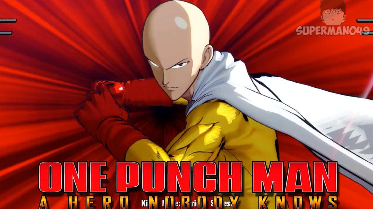 One Punch Man Saitama Serious Punch SERIOUS PUNCH! PLAYING WITH SAITAMA ONLINE! - One Punch ...