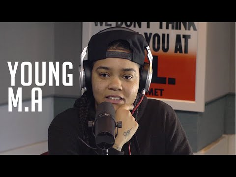Meet Young M.A. and Watch Her Spit Flames...