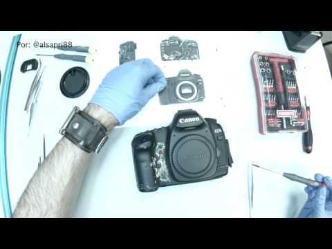 Reparación Canon EOS 5D Mark II