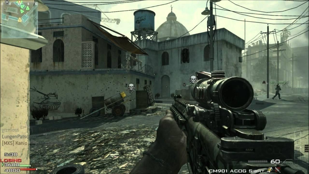 Call Of Duty Modern Warfare 3 GAMEPLAY Multiplayer Bakaara Map CODMW3 Fail Much YouTube