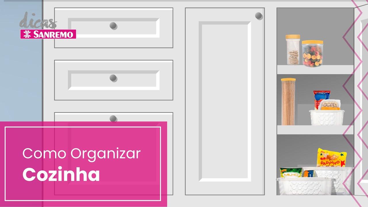 Como Organizar a Cozinha | Dicas Sanremo