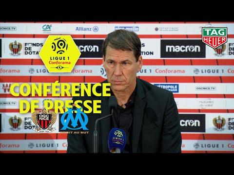 Conférence de presse OGC Nice - Olympique de Marseille ( 0-1 )  / 2018-19
