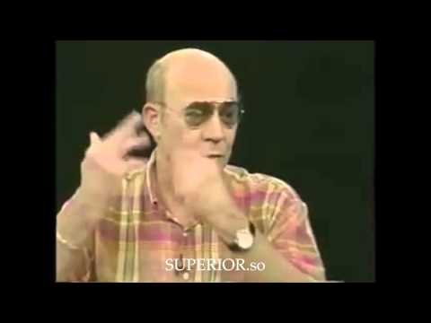 Hunter S Thompson: I tried every conceivable thing, before becoming a writer