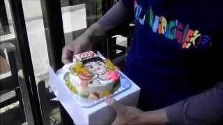 8月4日は八木さんの誕生日なので、手作り誕生日プレゼントを作りました...
