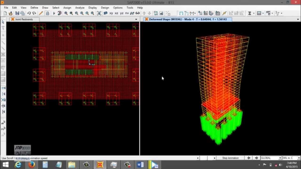 Design of highrise building in SAP2000 Part7 - Design of ...