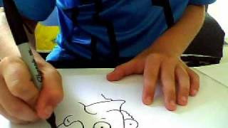 How to draw principal skinner from the simpsons easy way