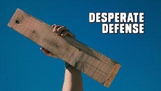 Desperate Defense: Wooden Board