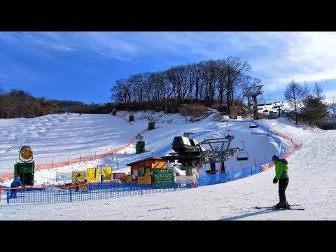 日本輕井澤王子飯店滑雪場1/6滑雪學校 Karuizawa Princehotel Snow Resort (Japan) - YouTube