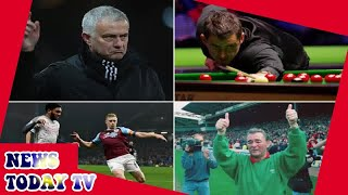Jose Mourinho, Ben Mee tackle, Ronnie O'Sullivan and Brian Clough - JEREMY CROSS COLUMN