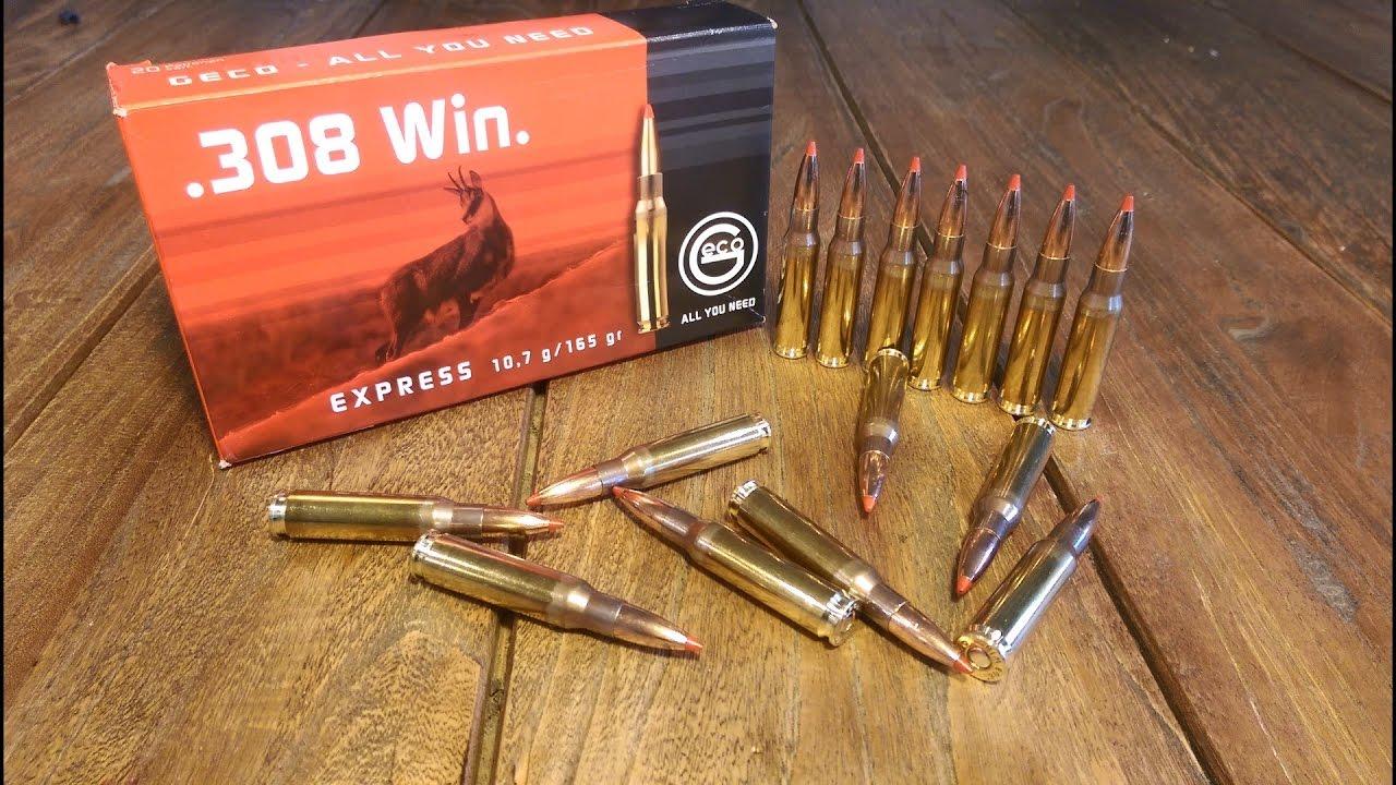 Wholesale .308 Hunting Ammunition - GECO 308 Calibre Range Review - YouTube
