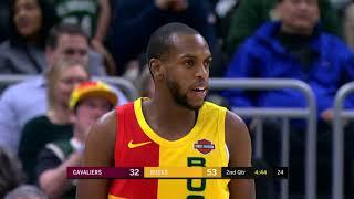 Cleveland Cavaliers vs Milwaukee Bucks | December 10, 2018