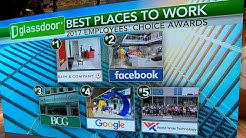 Glassdoor reveals list of best employers for 2017