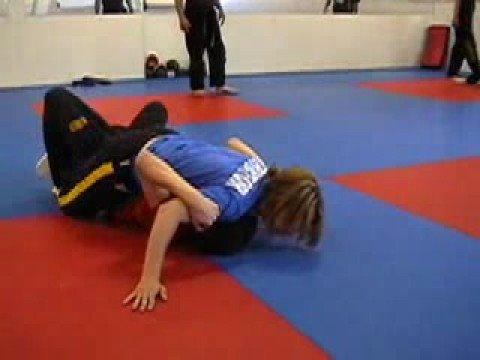 Pro-Star MMA, Teenage Boy and Girl Grappling, Mixed Martial Arts
