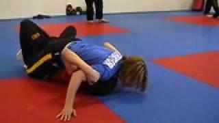 Pro-Star MMA, Teenage Boy and Girl Grappling, Mixed Martial Arts thumbnail